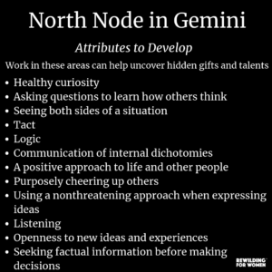 North Node in Gemini