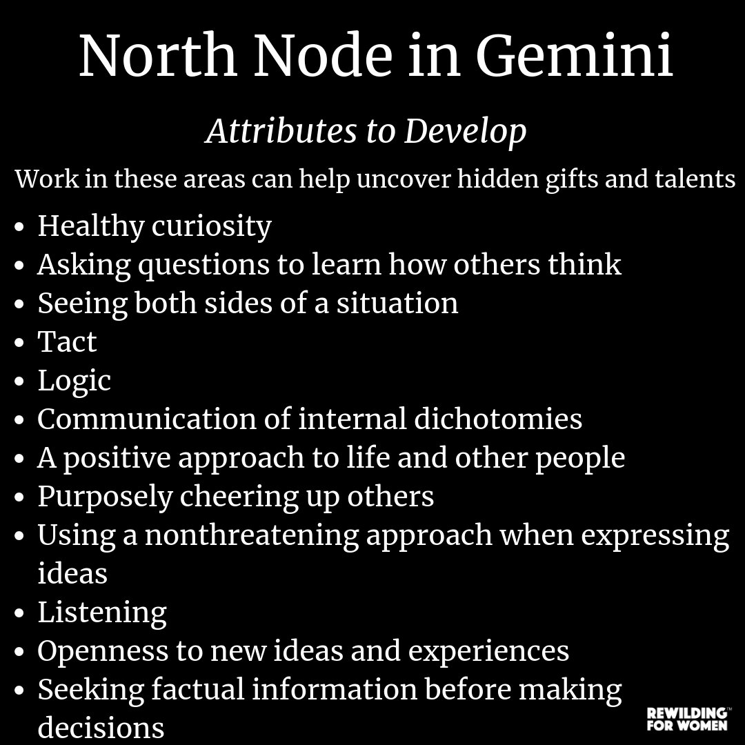North Node - Mystical Gifts & Soul Purpose Insights